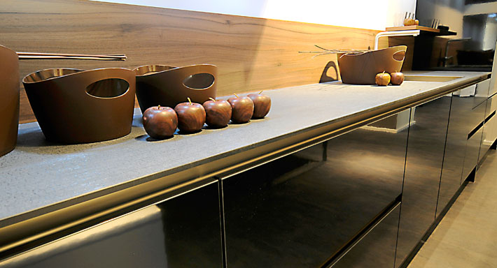kunststein schwegler k chenbau gmbh merenschwand k che. Black Bedroom Furniture Sets. Home Design Ideas